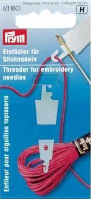 Аксессуар для рукоделия PRYM 611180 Нитевдеватель для мулине PRYM аксессуар для рукоделия обрезчик сиреневая катушка