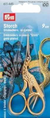 Ножницы Prym 611445 Ножницы для вышивки Аист PRYM