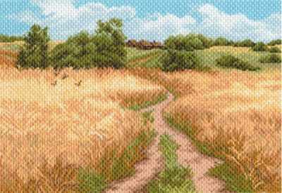 Основа для вышивания с нанесённым рисунком Матрёнин Посад 1641 Русское поле - рисунок на канве (МП) основа для вышивания с нанесённым рисунком матрёнин посад 950 восточные тайны мп