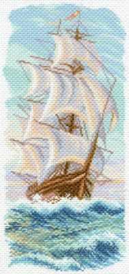 Основа для вышивания с нанесённым рисунком Матрёнин Посад 1639 Утренний бриз - рисунок на канве (МП)