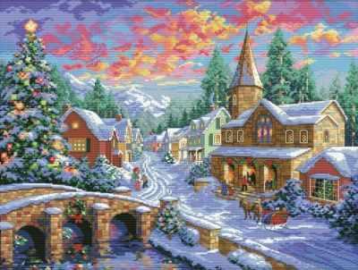 2289-14 Рождественская ночь (Белоснежка)