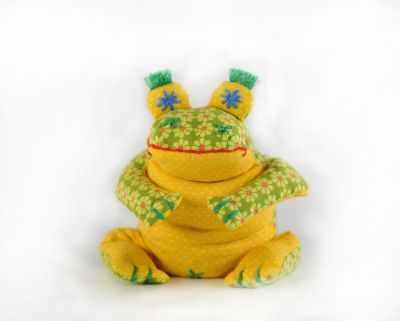 Набор для изготовления игрушки Перловка П 114 Лягушенок Ква - игрушка (Перловка)