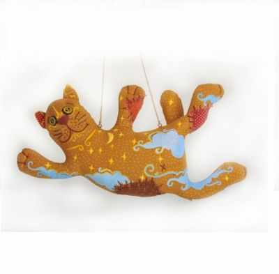 Набор для изготовления игрушки Перловка ПЧ 501 Кот-Ловец Снов - игрушка (Перловка)