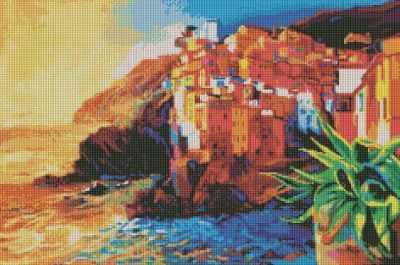 239-ST Побережье (Белоснежка) - Мозаика «Белоснежка»