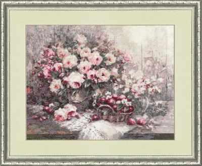 Набор для вышивания Золотое Руно СЖ-038 Розовый Прованс. Стиль жизни