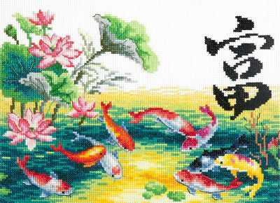 Набор для вышивания Чудесная игла 87-03 Богатство