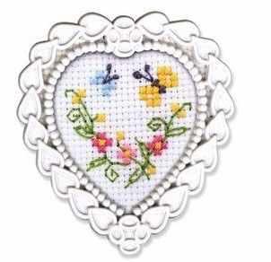 Набор для вышивания РТО FA018 Цветы и бабочки