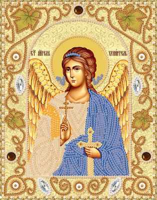 НИК-5304 Ангел Хранитель (Марiчка) - Наборы для вышивания икон бисером «Марiчка»