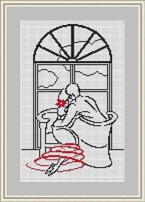 ВЗ-011 У окна - набор (Орнамент)
