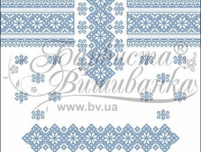 ПД017дБ40нн Заготовка (БВ) - Вышиванки «Барвиста Вышиванка»