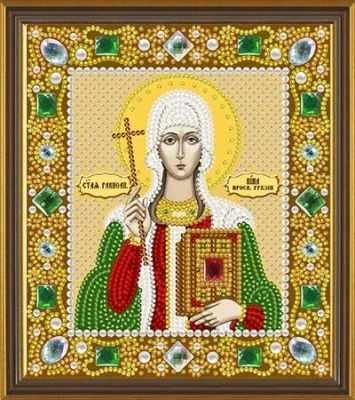 Набор для вышивания иконы Nova Sloboda Д 6166 Св. Равноап. Нина просвет. Грузии