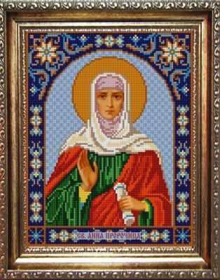 НИК 9337 Св. Анна - рисунок на ткани