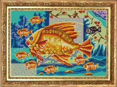 НИК 9807 Богатство - рисунок на ткани