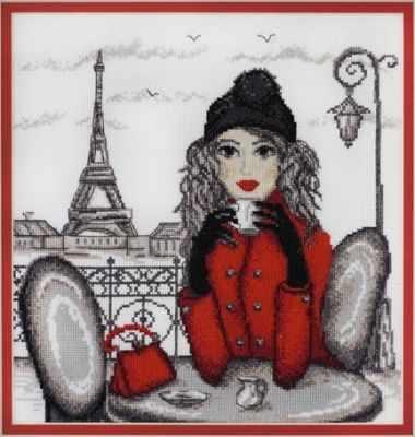 Фото - Набор для вышивания Марья искусница 09.005.03 Париж МИ набор для вышивания марья искусница 02 006 02 ла