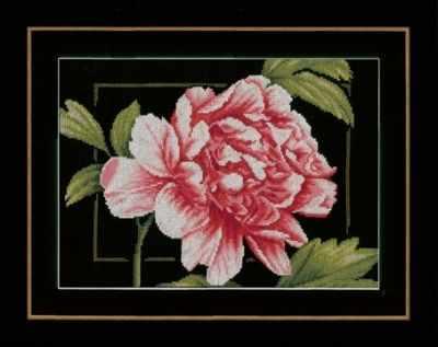 Набор для вышивания Lanarte PN-0155749 Pink rose