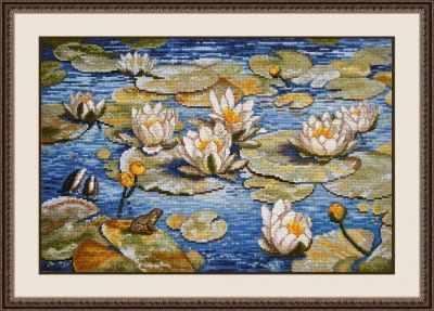 Набор для вышивания Овен 793 Большие лилии