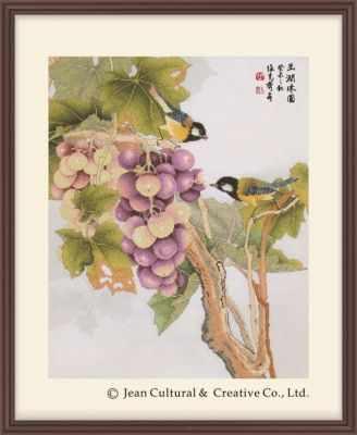 2800115 Спелая гроздь винограда  набор (Xiu Crafts) - Наборы для вышивания «Xiu Crafts»