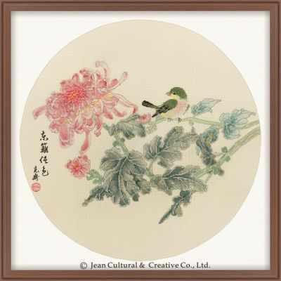 2800121 Хризантемы  набор (Xiu Crafts) - Наборы для вышивания «Xiu Crafts»