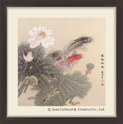 2800801 Лотос и Карпы  набор (Xiu Crafts) - Наборы для вышивания «Xiu Crafts»