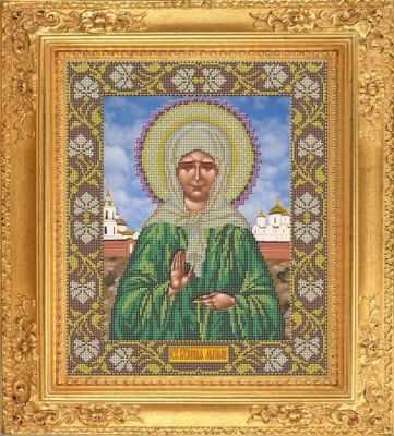 И 018 Икона Матрона Московская - набор (Galla Collection)