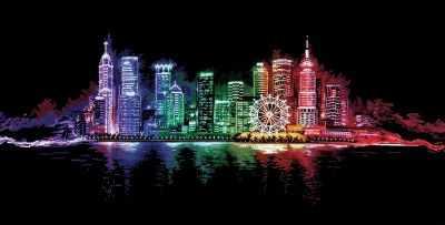 Н-16 Ночной город
