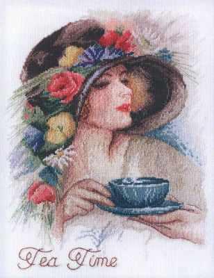 Набор для вышивания Марья искусница 06.004.08 Время пить чай