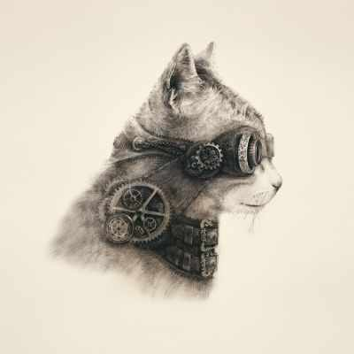 Наволочка Матрёнин Посад 9000 Супер кот - наволочка (МП)