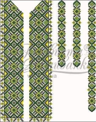 СЧ013дБнннн Заготовка (БВ) - Вышиванки «Барвиста Вышиванка»