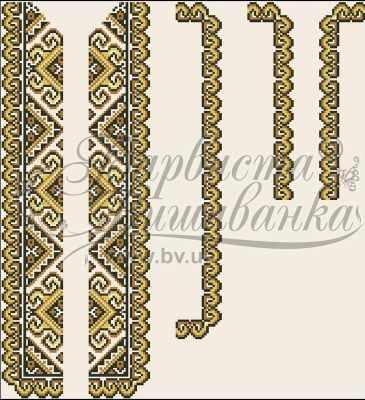 Заготовка для вышиванки Барвиста Вышиванка СД001дМ40нн Заготовка (БВ)