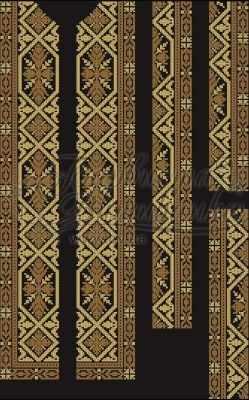Заготовка для вышиванки Барвиста Вышиванка СЧ019дЧнннн Заготовка (БВ)