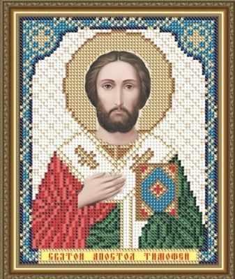 Основа для вышивания с нанесённым рисунком Art Solo VIA5106 Св. Апостол Тимофей - схема (Art Solo)