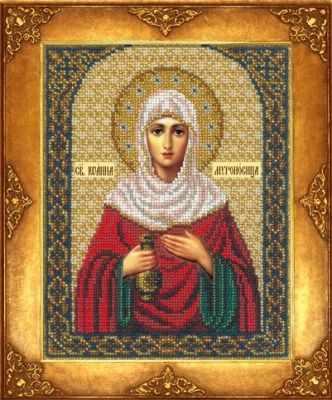 Набор для вышивания иконы Русская искусница 377 - Св. Иоанна Мироносица (РИ)