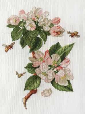 Фото - Набор для вышивания Марья искусница 06.002.34 Цветущая яблоня набор для вышивания марья искусница 16 001 04 дубовые листья