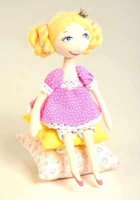 Набор для изготовления игрушки Перловка ПСН 903 Принцесса на горошине - игрушка (Перловка)