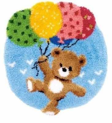 Набор для вышивания Vervaco PN-0153592 Мишка с воздушными шариками