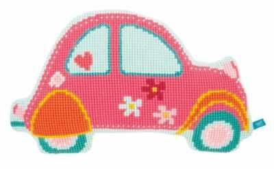 Набор для вышивания Vervaco PN-0154490 Розовая машинка