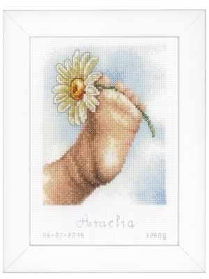 Купить со скидкой PN-0155063 Ножка малыша (Vervaco)