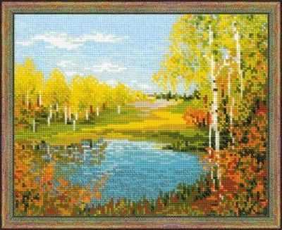 1542  Осенний день  - Наборы для вышивания «Риолис»