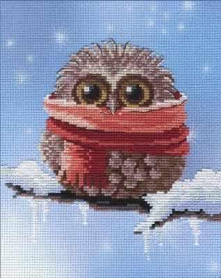 N-259 Совушки-времена года. Зима  мозаика Милато - Мозаика «Milato»