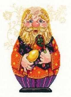 6-08 Дедуля - Наборы для вышивания «Алиса»