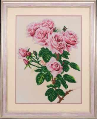 Набор для вышивания Ажур Б-0001 Розы и шмели