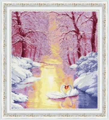 Набор для вышивания Золотое Руно ЛП-043 Жаркая любовь. Лирический пейзаж набор для вышивания золотое руно лп 033 лесной страж лирический пейзаж