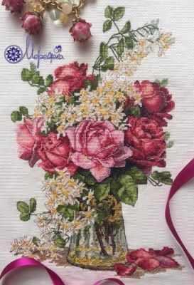 К-39 Розы (Мережка) - Наборы для вышивания «Мережка»