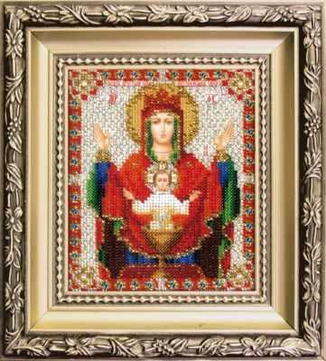 БЮ-010  Икона БМ Неупиваемая чаша   чм - Наборы для вышивания икон «Чарiвна Мить»