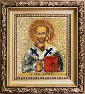 Б-1234  Икона Святителя Иоанна Златоуста   чм - Наборы для вышивания икон «Чарiвна Мить»