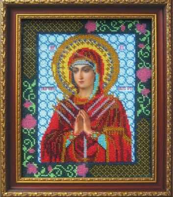 Купить со скидкой И-1003 Богородица Семистрельная (Золотой Восход)