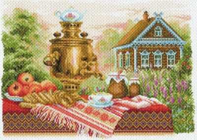 Основа для вышивания с нанесённым рисунком Матрёнин Посад 1710 Натюрморт деревенский - рисунок на канве (МП) основа для вышивания с нанесённым рисунком матрёнин посад 950 восточные тайны мп