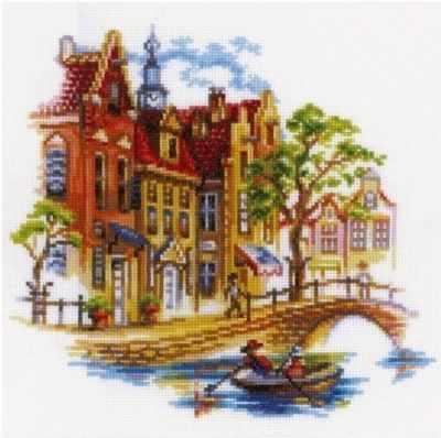 Набор для вышивания РТО M293 Прогулка по Амстердаму
