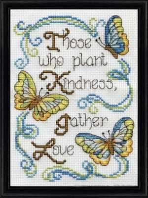 2894 Доброта бабочек (Design Works) - Наборы для вышивания «Design Works»