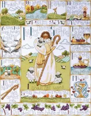 2538 Двадцать третий псалом (Design Works) - Наборы для вышивания «Design Works»